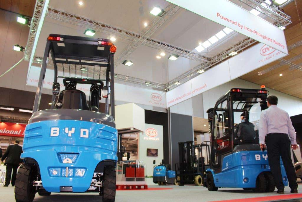 CeMAT 2016 BYD Stand